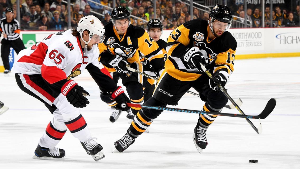 NHL Playoffs, Pittsburgh Penguins,, Nashville Predators, Anaheim Ducks, Ottawa Senators