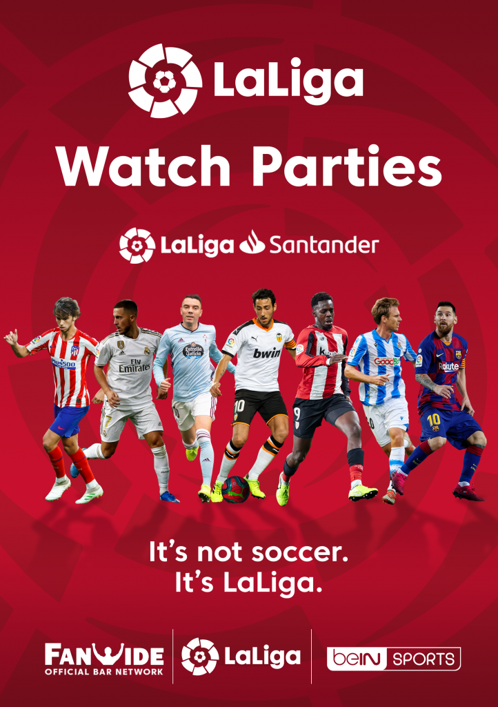 Promotional Graphic for LaLiga Watch Parties